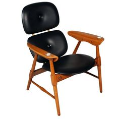 Mid-Century, Armchair Italian Style Marco Zanuso, 1950s | From a unique collection of antique and modern armchairs at https://www.1stdibs.com/furniture/seating/armchairs/