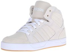adidas NEO Women's Raleigh Mid W Casual Sneaker,Brown/Brown/White,7 M US