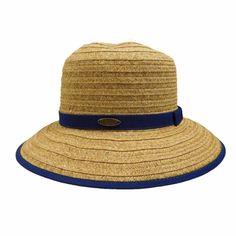 Cappelli Big Brim Hat with Ribbon Accent