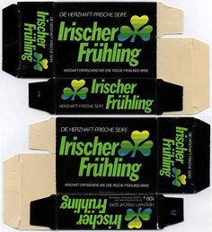 Germany - Colgate-Palmolive - Irish Spring - Irischer Fruhling - bar soap box - 1980's 1990's   Flickr - Photo Sharing!