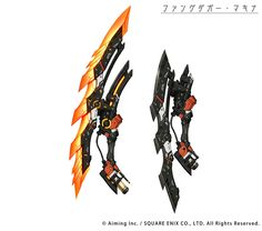 Ninja Weapons, Anime Weapons, Sci Fi Weapons, Weapons Guns, Ninja Armor, Robot Concept Art, Armor Concept, Weapon Concept Art, Fantasy Sword