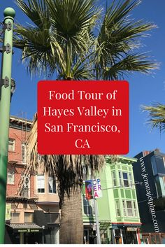 Explore San Francisco by eating your way through one of the city's up and coming neighborhoods. The Hayes Valley food tour with Gourmet Walks is an experience you, and your taste buds, won't soon forget! Pin to your travel board for future reference.