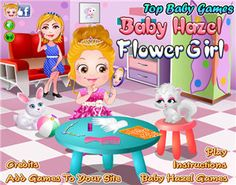 Purchasing costumes and accessories, dressing herself up are the things which wait little Hazel to do. Now she knows to be a flower girl is not so easy! She is exhausted and a favor is needed urgently! Baby Hazel, Online Gratis, Play Online, Party Games, Android Apps, Princess Peach, Wedding Day, Family Guy, Girly