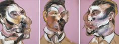 Francis Bacon: Three studies of George Dyer (1969)
