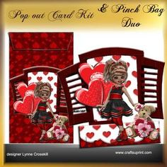 Popout Card & Pinch Bag Duo - My Sweetie