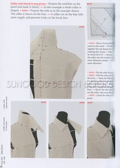 400 Best 11 Draping Moulage Dress Form Modeling On The Stand How To Images In 2020 Dressmaking Dress Form Patternmaking