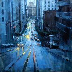 """Die Blaue Nacht"" by James Kroner"