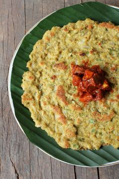 A dosa that needs just 3 hours soaking time plus contains oats