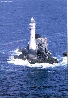 Fastnet Island light, County Cork, Ireland