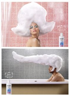 shampoo advertisement essays