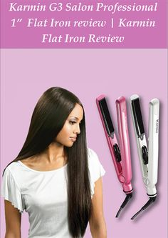 Karmen has historically been the name of a temptress. She had a lot of redeeming qualities too. Though,it did not surpriseme to find a tool as beautiful as Karmin G3 Salon Professional 1″ flat iron. This ceramic hair straightener is sleek and stylish with up to date exterior. It is so cute and fascinating and I have not touched yet on its functionality.