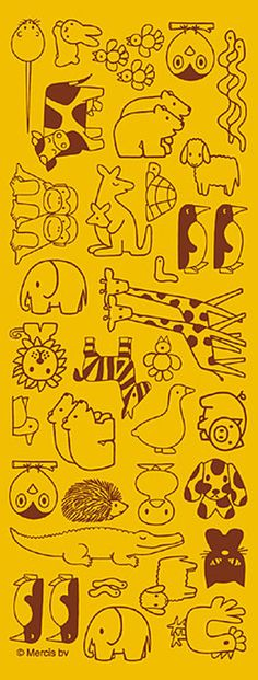 Animal embroidery patterns by illustrator Pinning for the penguins . Animal embroidery patterns by illustrator Pinning for the penguins and the polar bears Embroidery Designs, Hand Embroidery, Japanese Embroidery, Embroidery Fashion, Machine Embroidery, Doodle Art, Doodle Drawings, Drawing People, Coloring Pages