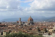 Florence is a city whose charm and splendid past have remained unaltered.