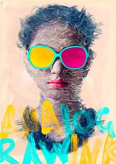 Digital Vomit by Alberto Seveso   Abduzeedo Design Inspiration  http://www.burdu976.com/