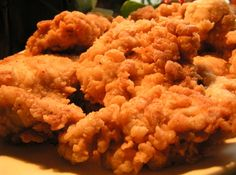 Good Old Southern Fried Buttermilk Chicken~ I made this tonight. It was delicious! Great flavor & crunch!