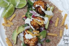 Mix and Match Mama: Dinner Tonight: Grilled Shrimp Tacos