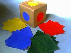 Em uma postagem que publiquei esses dias contei a respeito do projeto em que estou trabalhando  as cores.  Contei do jogo que construí com a... Sensory Book, Montessori Toys, Animal Coloring Pages, Busy Book, Fun Math, Educational Toys, Preschool Activities, Kindergarten, Projects To Try