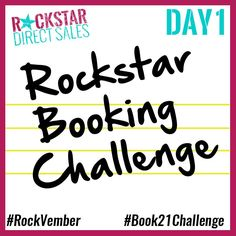 Join the Challenge GO TO >>> http://bit.ly/1WkEsOd (IT'S FREE) WOOT! Cheers to Bookin' 21 Parties in 21 Day