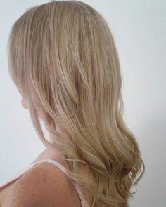 Empress Hair Brisbane - Monique - Blonde Curls Long