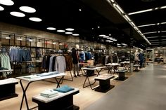 Breuninger Department Store, Menswear Area by Brinkworth, Stuttgart – Germany » Retail Design Blog