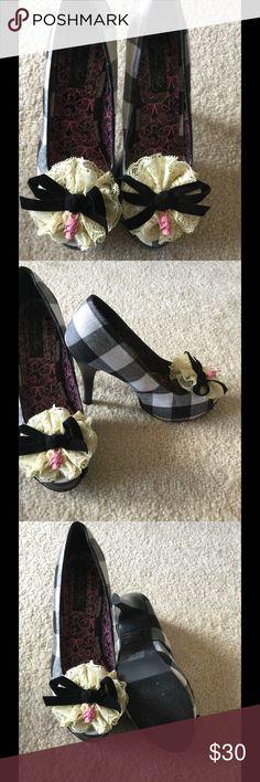 Selling this IF checkered heel on Poshmark! My username is: plfrederick. #shopmycloset #poshmark #fashion #shopping #style #forsale #Iron Fist #Shoes