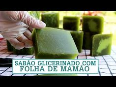 Como fazer SABÃO CASEIRO com FOLHA DE MAMÃO - Ótima qualidade! Fran Adorno - YouTube