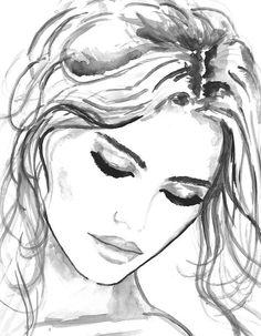 Imprimer à partir d'aquarelle mode Illustration par Mysoulfly