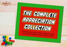 Everything you need to design an AWESOME Staff Appreciation Week for the Master Builders at your school! Customizable: invitation, coloring sheet, daily event printables, and more! SAVE $175 when you purchase our complete collection instead of buying the printables a la carte! You can about the LEGO-Inspired Appreciation Week I planned here. It will walk you through the entire process, including: decoration inspiration, gift ideas, SignUp Genius wording, and more! Be sure to download the free Ap Drink Labels, Bottle Labels, Square Cupcakes, Teacher Posters, Thank You Party, Chocolate Bar Wrappers, Gable Boxes, Coffee Poster, Staff Appreciation