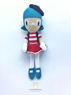 Diega, the mime | Amigurumi design contest | by Los Sospechosos