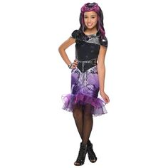 3087e52a7c05 Raven Queen Ever After High Kids/Teen Costume - Kids Costumes Pink Sequin,  Costume
