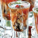 Spicy, salty and ultrafresh, this shooter is an elegant way to serve oysters at a party.