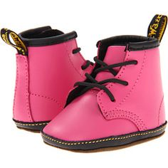 Halle NEEDS these!! Dr. Martens DM Lace Bootie (Infant/Toddler)