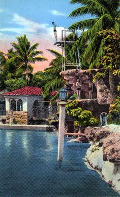 Florida Memory - Venetian Pool - Coral Gables Florida