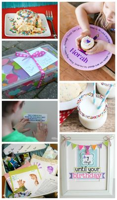 Tons of special ways to make your kids birthday awesome!
