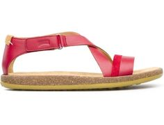 For Spring Summer 2013 Camper presents Peu Sand, a red open sandal made of full grain leather.