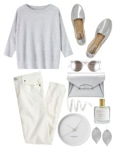 """""""Minimalism"""" by sweetsuzieann ❤ liked on Polyvore featuring Tildon, J.Crew, Toast, Manebí, Givenchy, Humble Chic, Georg Jensen and Cynthia Rowley"""