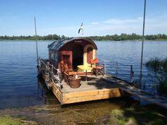 Urlaub auf dem Floß