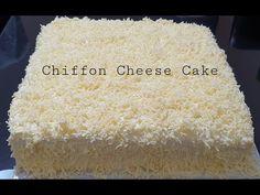 CHIFFON CHEESE CAKE - YouTube Cake Youtube, Cheese Cakes, Chiffon, Cheesecakes, Silk Fabric, Sheer Chiffon