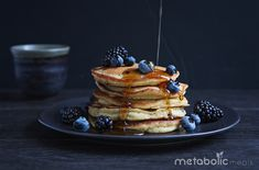 Have your cakes and protein too. Prepare these pancakes as the ultimate nutritional foundation for an endurance event…whether you're competing in the Kona Ironman or going out for a casual 10 miles with friends, these pancakes offer an endurance-focused 4:1 ratio of Carbs to Protein to fuel your body! You can also enjoy these ultra-healthy … Continue reading Blueberry Chickpea Pancakes