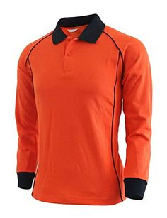 BCPOLO Casual unisex sportswear unique design long sleeve polo shirt-orange XS BCPOLO http://www.amazon.com/dp/B00Q6DNNWW/ref=cm_sw_r_pi_dp_-0v7ub1GWX83M
