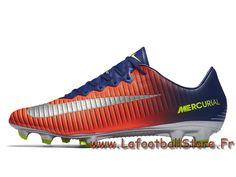 super popular 768ef 3a196 Nike Mercurial Vapor XI FG 831958 408 Bleu royal Chaussure de football à  crampons pour terrain sec - 1706110782 - Chaussures de Foot   officielle  Maillots ...