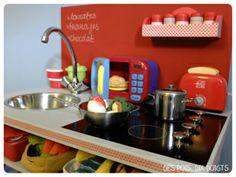Cuisine pour dinette fait maison