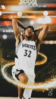 This Is Karl Anthony Towns From The Minnesota Timberwolves National Basketball Team Lakers Warriors