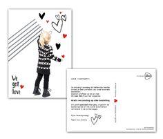 Printed Cards, Concept & Design by Anjuska Slijderink