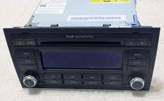 Audi A4 B7 Cabriolet 2.0 Symphony Stereo Radio Cd Player Satellite Head Unit #AUDI