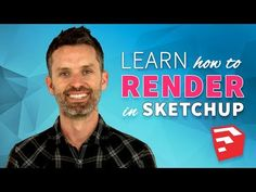 Watch this before you get started rendering in SketchUp (applies to any rendering extension). In this video, we'll teach you The Photographer Method. Sketchup Rendering, Sketchup Pro, Photoshop Rendering, Sketchup Model, Interior Design Renderings, Interior Design Software, Interior Rendering, Architect Software, Photorealistic Rendering