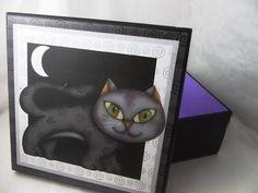 Porta tréco Gato e Lua - Paper St.