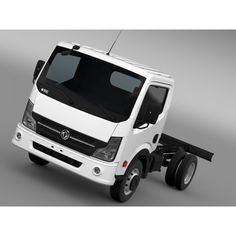 DongFeng N300 Captain Chassi 2015 - 3D Car for Maya