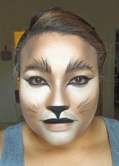 COSTUME MAKEUP ALERT - Lioness/Cat Halloween Makeup
