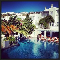 Belvedere Hotel Mykonos. Photo credits: @Marián Bautista Mykonos, Photo Credit, Mansions, House Styles, Pictures, Instagram, Home Decor, Mansion Houses, Photos